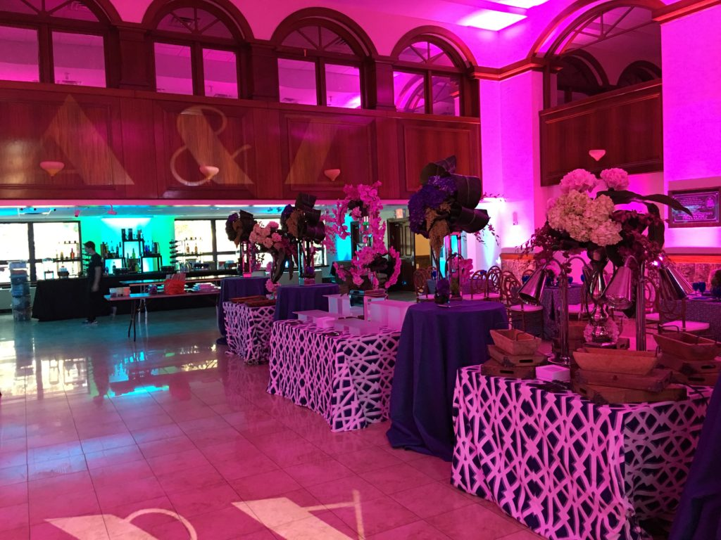 Custon GOBOs and lighting for a night to remember Event Planner NY - EventPlannerNY.com (800) 736-8888