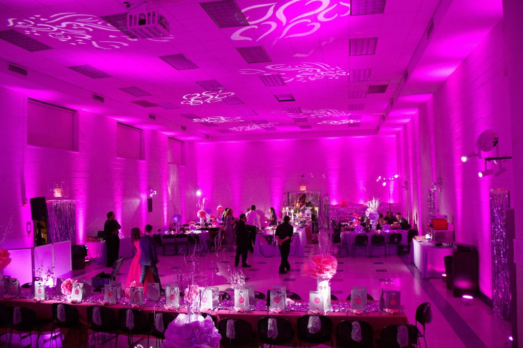 Hot pink & Harts at Event Planner NY (800) 736-8888