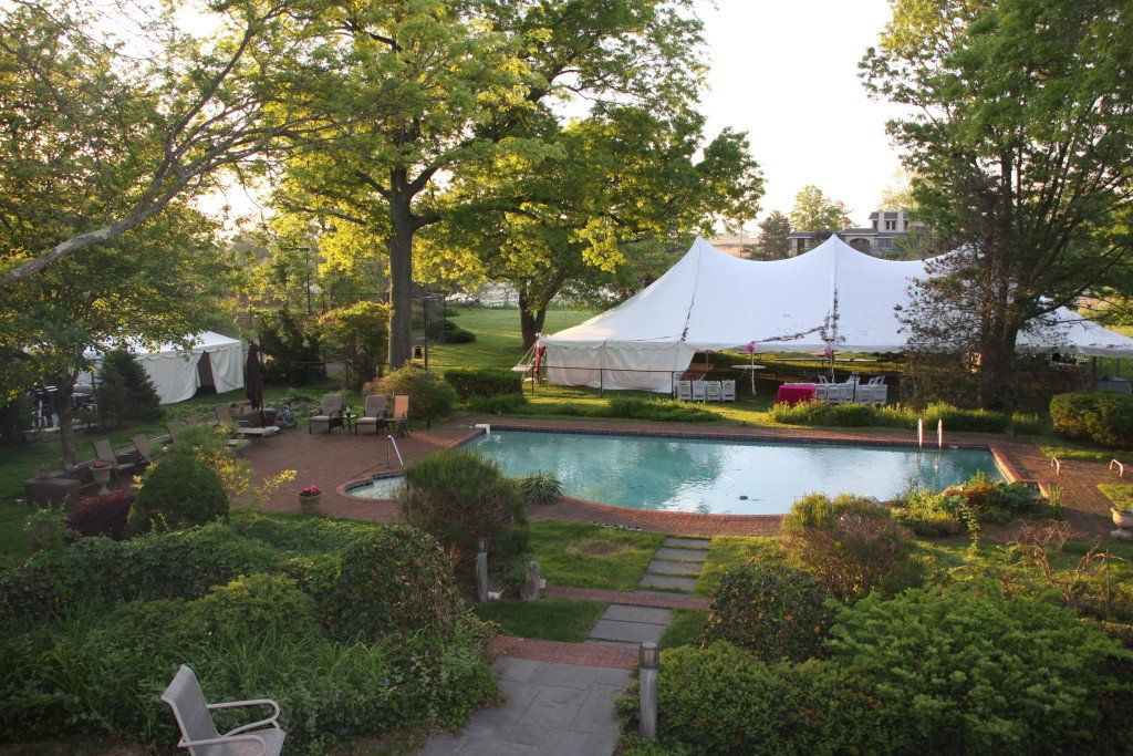 Large tent and kitchen tent at Event Planner NY (800) 736-8888