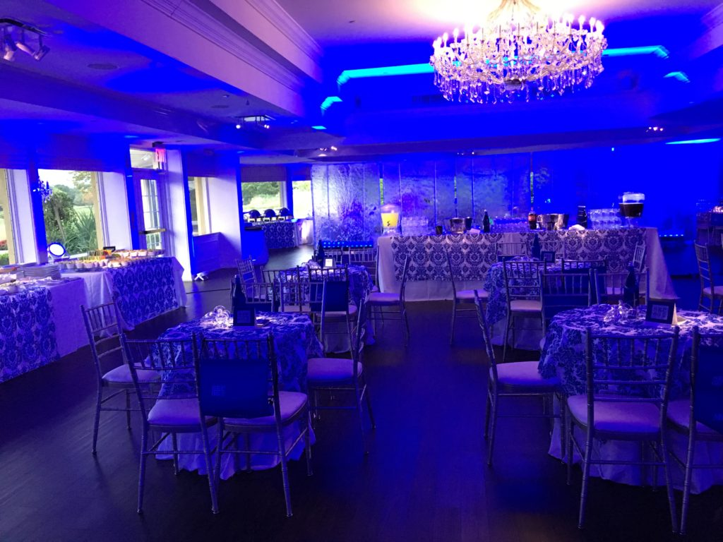 Lighting up the waterfall Event Planner NY - EventPlannerNY.com (800) 736-8888