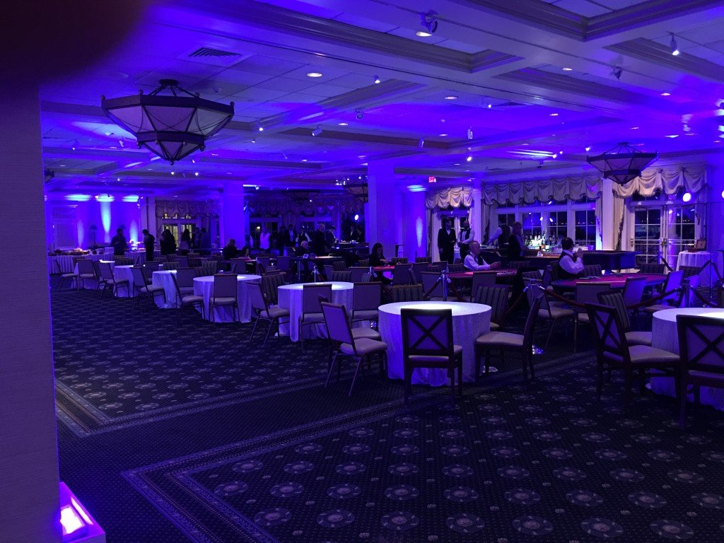 ONE Israel Fund Blue Lights & Gobos by Event Planner NY (800) 736-8888