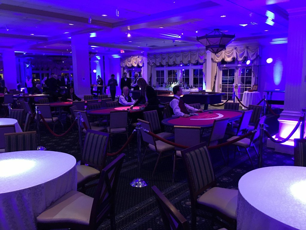 ONE Israel Fund Lights & Gobos by Event Planner NY (800) 736-8888