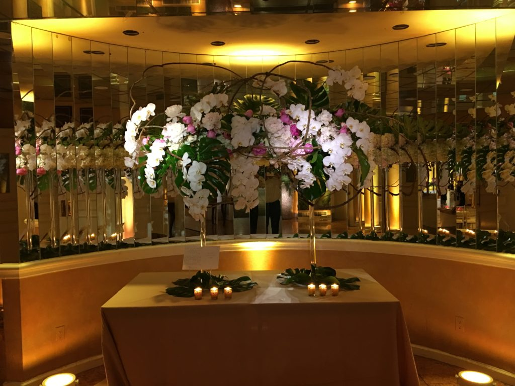 Our lights make the flowers even more beautiful EventPlannerNY.com (800) 736-8888