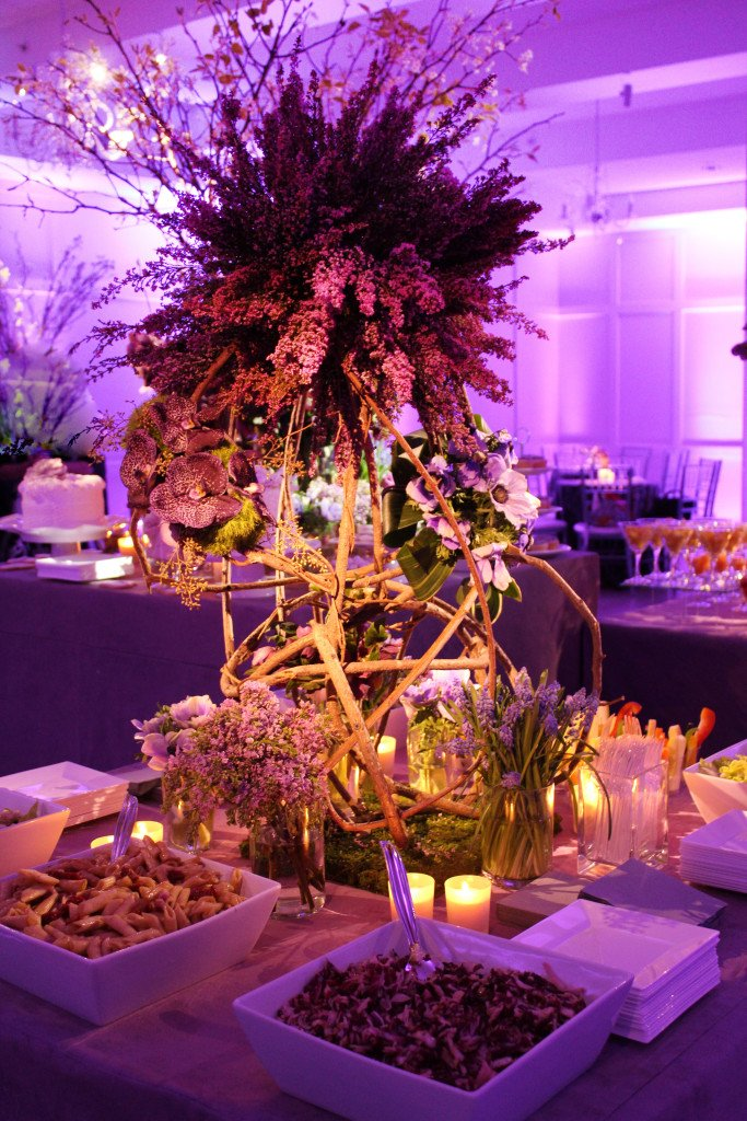 The Red shul is now purple with touch of amber - Event Planner NY (800) 736-8888