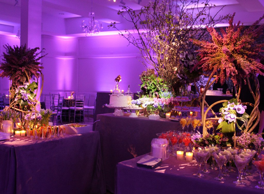 The Red shul now is purple with touch of amber - Event Planner NY (800) 736-8888